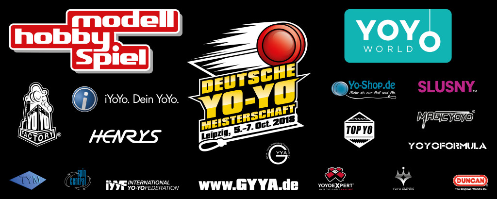 Sponsoren Deutsche YoYo Meisterschaft 2018